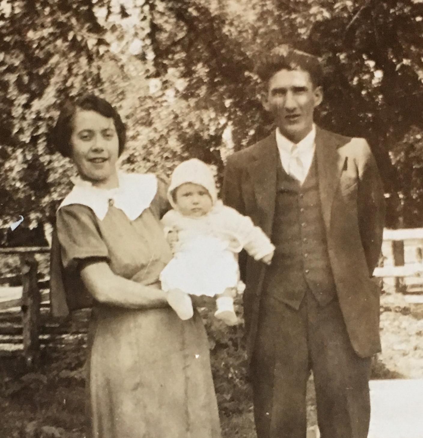 Frances, Richard, and Jay (c. 1937)