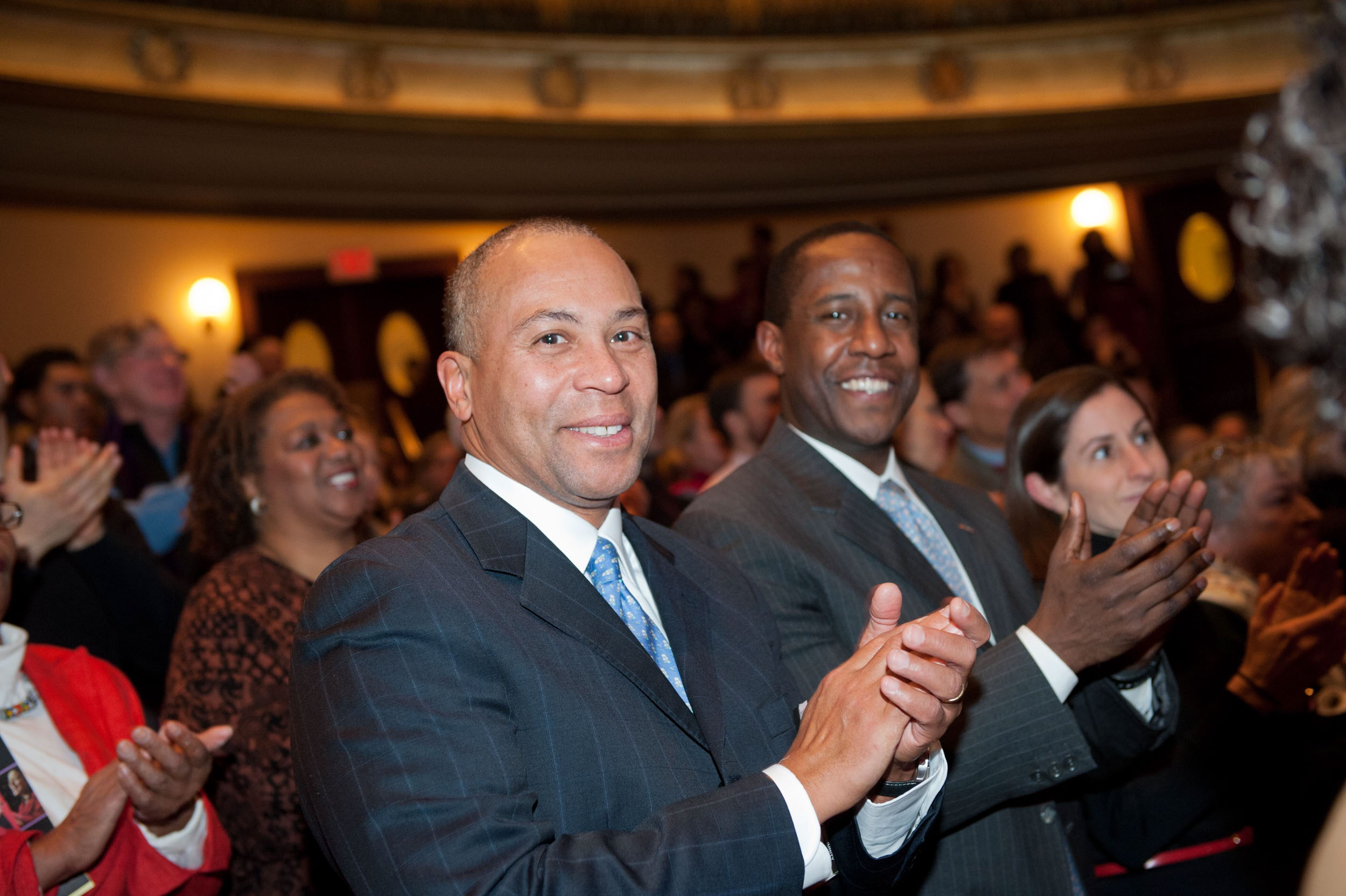 Maura Wayman Photography, Photography, Corporate Photography,Massachusetts, Boston, Metro West, events, Corporate events, Photographer, Functions, Parties, Fundraisers, Duval Patrick, Boston Childrens Choir, Symphony hall, MLK, Martin Luther King Day, clapping, black man,
