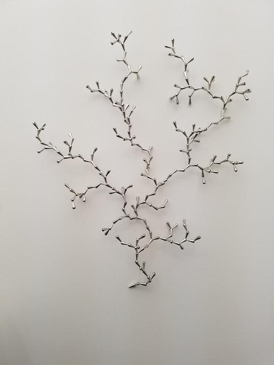 Loris Cecchini, The developed seed (254), 2017