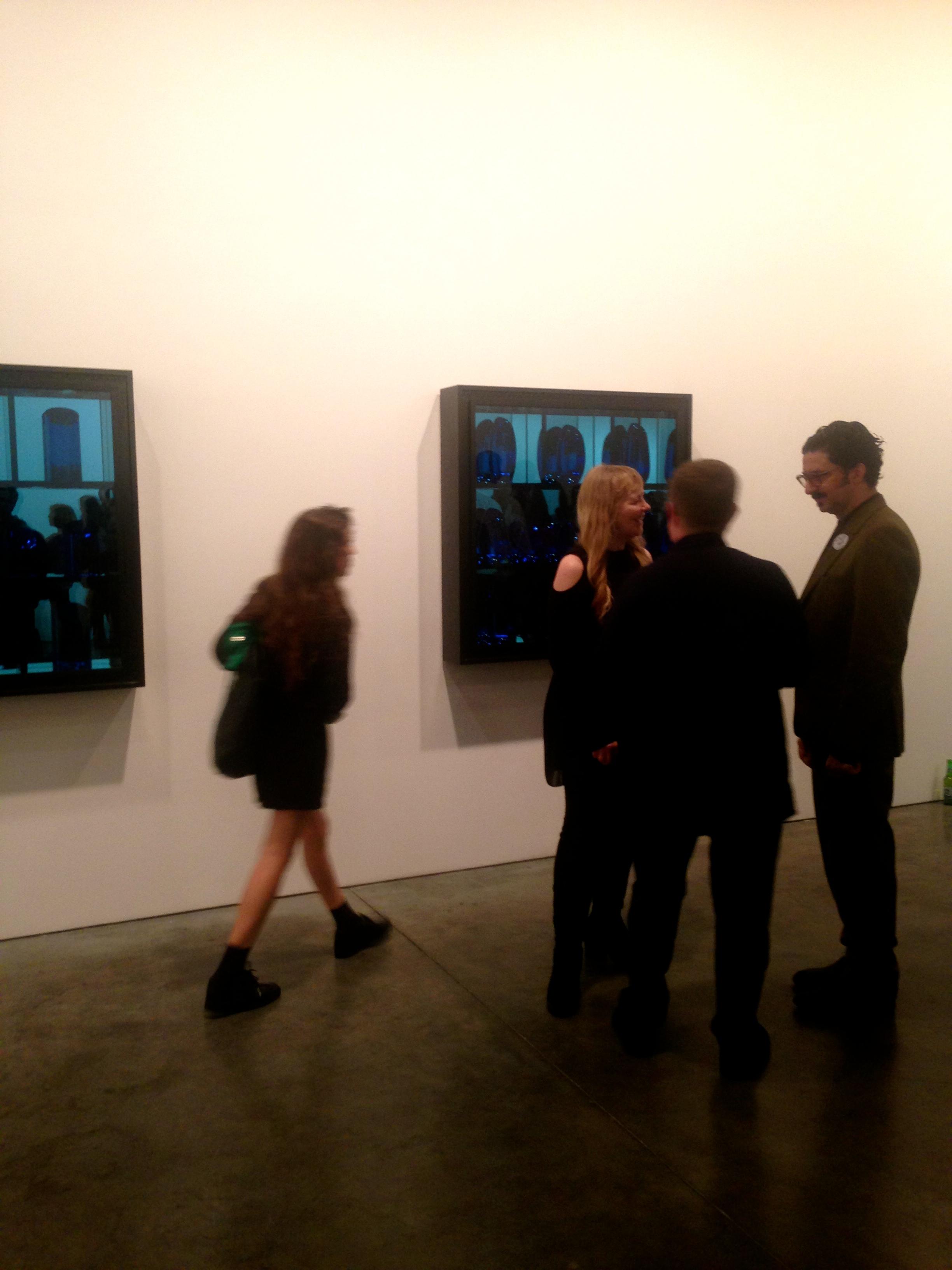 Andrea Rosen, Josiah McElheny, Blue Prism Painting V, 2015