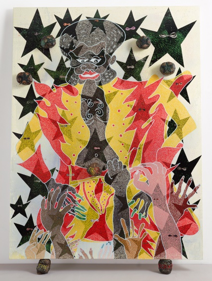 Chris Ofili: Night and Day @ New Museum