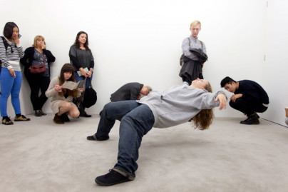 Featured at 14 Rooms, Art Basel, Basel. Xu Zhen, In Just a Blink of an Eye, 2005. Courtesy Jamie North/ Kaldor Public Art Projects.