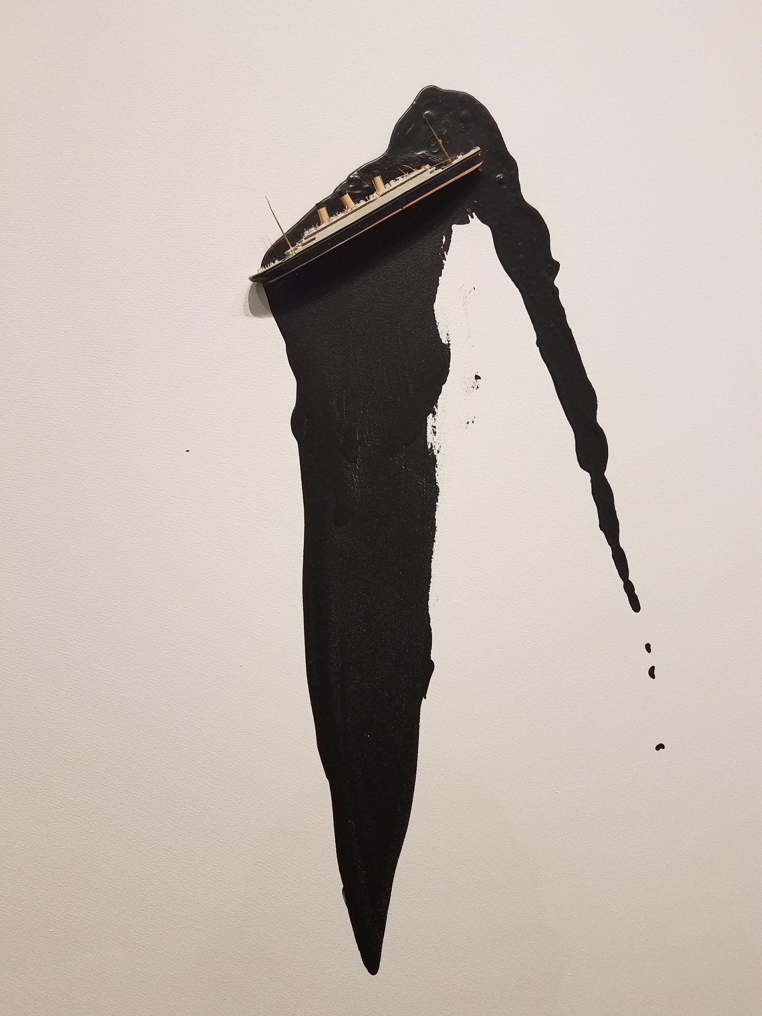 Liliana Porter, Untitled (Ship), 2011 (Detail)