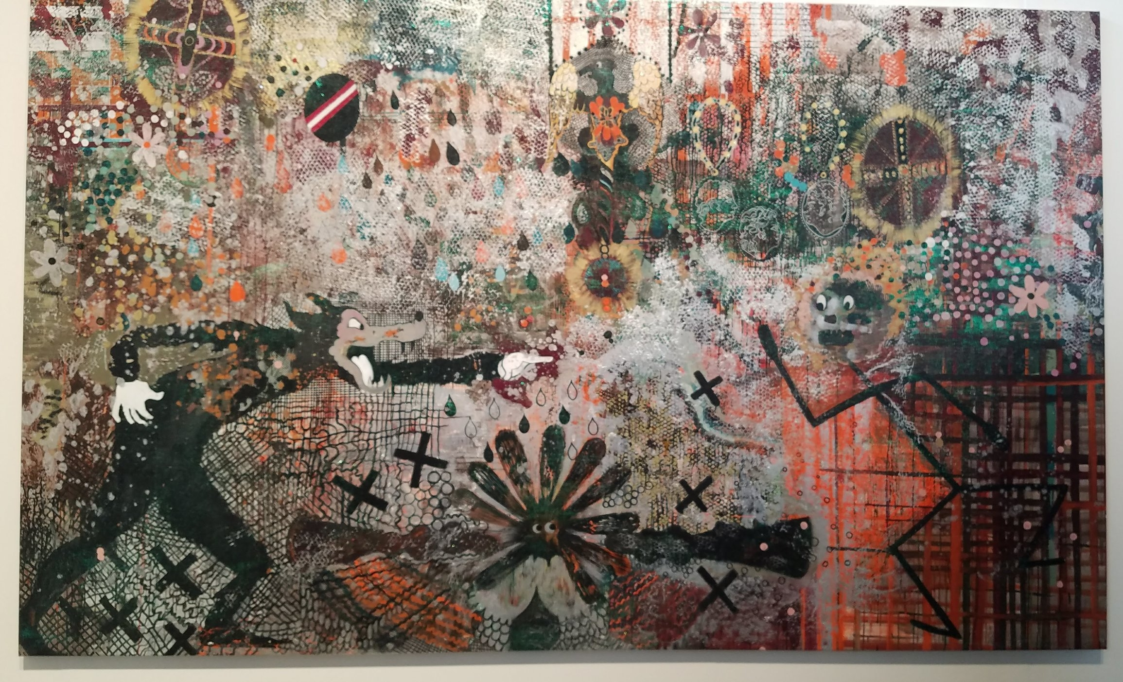 Helen Delprat courtesy of Galerie Chrisophe Gaillard