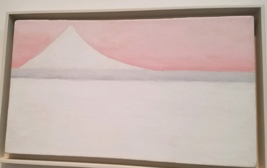 Georgia O'Keeffe,  Untitled (Mt. Fuji) , 1960