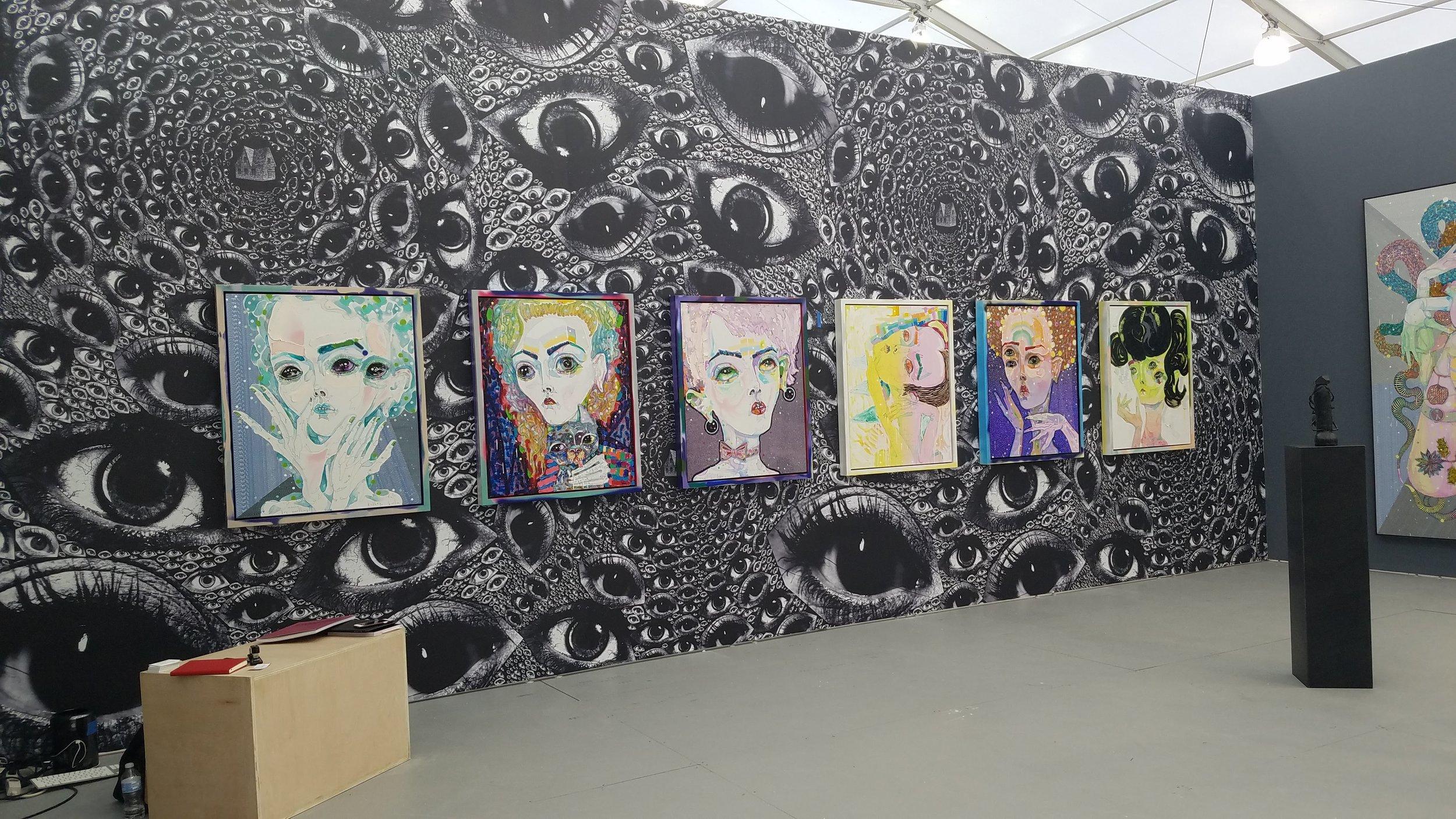 Kathryn Del Barton, Albertz Benda Gallery