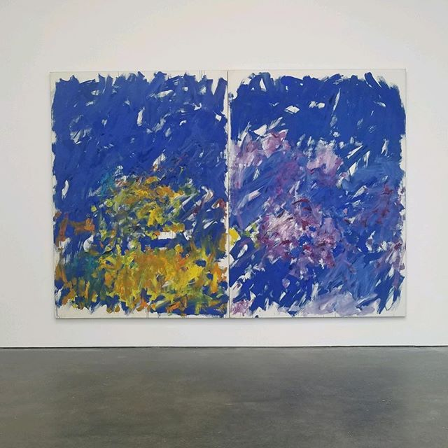 Joan Mitchell's I carry my landscapes around with me @davidzwirner  Great start of May Art season, amazing show  #joanmitchell #zwirner #artadvisor #contemporaryart #abstract #exhibition #happeningnow #gallery