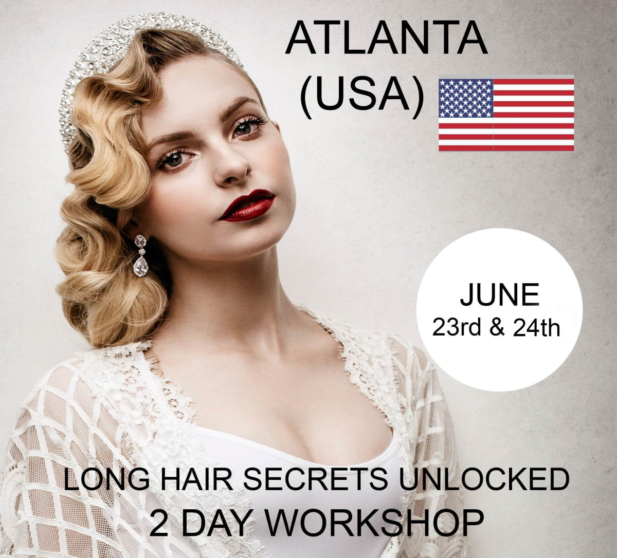 Stop struggling with long hair… - Lorna Evans, Long Hair Expert This workshop will develop skills in all aspects of Long Hair Styling, whether you are a Salon Stylist, Make-up artist or Freelancer. Learn how to create beautiful looks with ease and at a pace that will ensure that your Long hair styling days are stress free and enjoyable.
