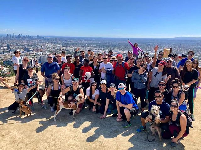 Fitbit Local Feb. Fam ⛰☀️❤️ Another beautiful day in LA shared amongst amazing, friendly, and high spirited individuals. Thank you to everyone that came out today to support each other and hike Runyon Canyon together!  See you next month @boomtownbrewery 😊 📸:@chrisrogo  #fitbitlocal #losangeles #findyourfit #fitbit #community