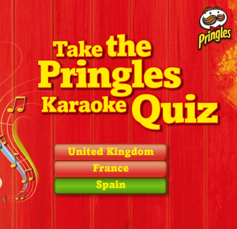 Pringles Karaoke Apps