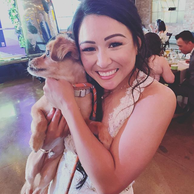 At Spotted Hen there are 2 things we are beyond passionate about amazing, beautiful food and DOGS! So many of us at Spotted Hen have Rescues! Our beautiful bride brought both of her dogs to the wedding and it thrilled us!!!!!! #spottedhencatering #dogrescue #dogsofinstagram #xoxoweddings #lariverstudios