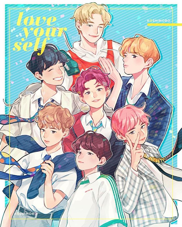 this was my favorite photoshoot 💛  @bts.bighitofficial #bts #btsfanart #방탄소년단 #fanart #artistsoninstagram