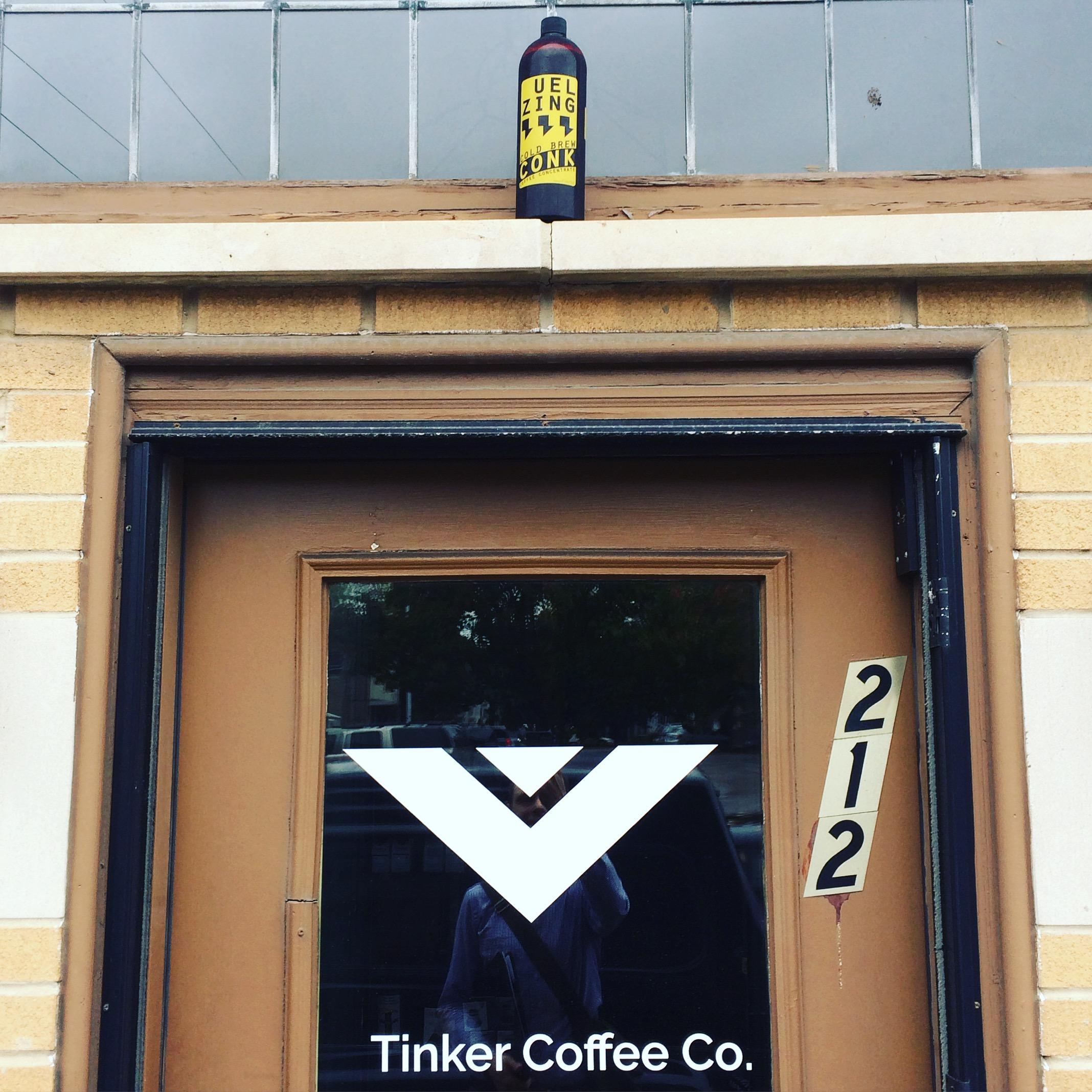 Uel Zing Tinker Coffee Conk Door