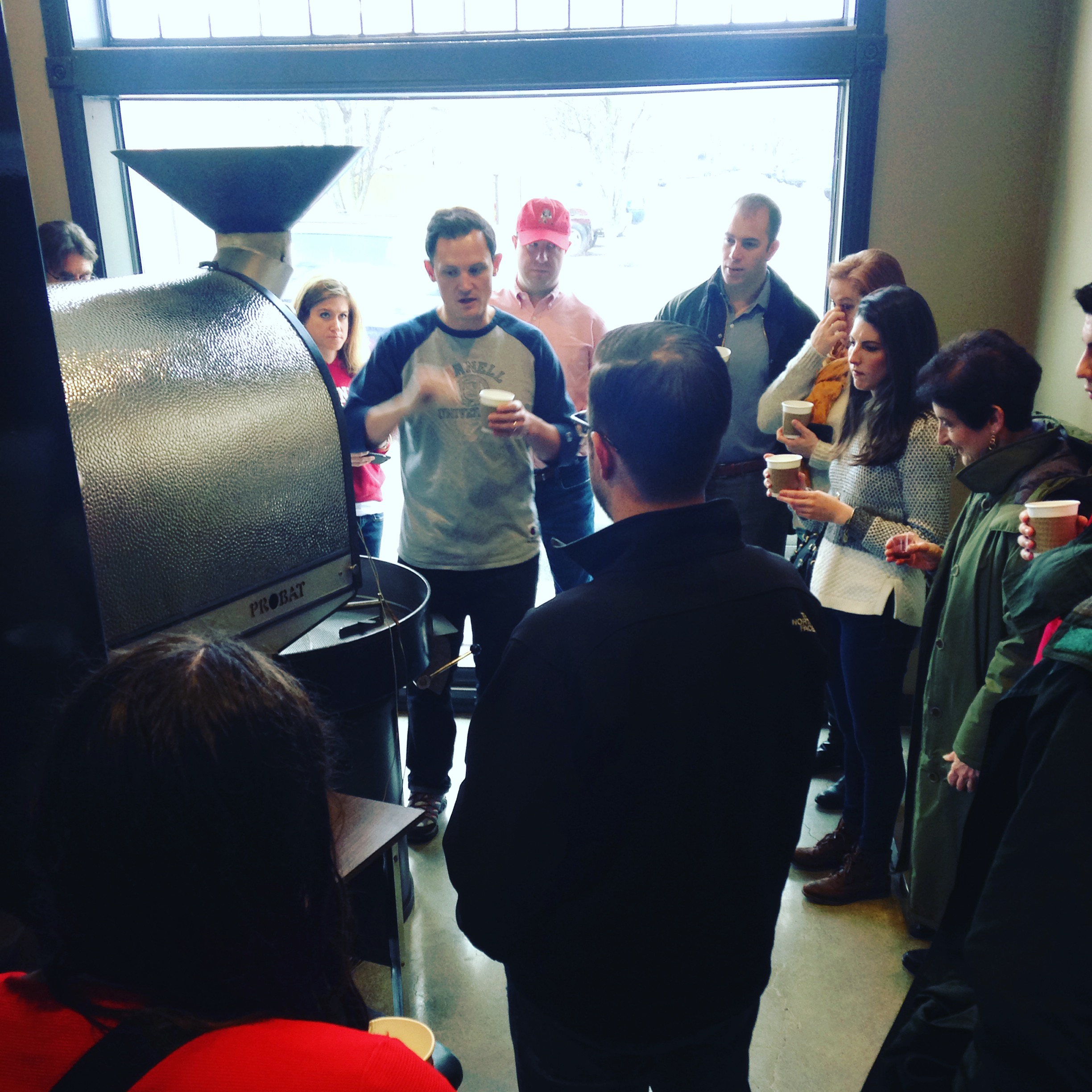 Steve and I hosted a coffee lecture for fellow Cornell Alumni.