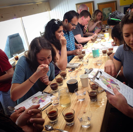Uel Zing Coffee Cupping