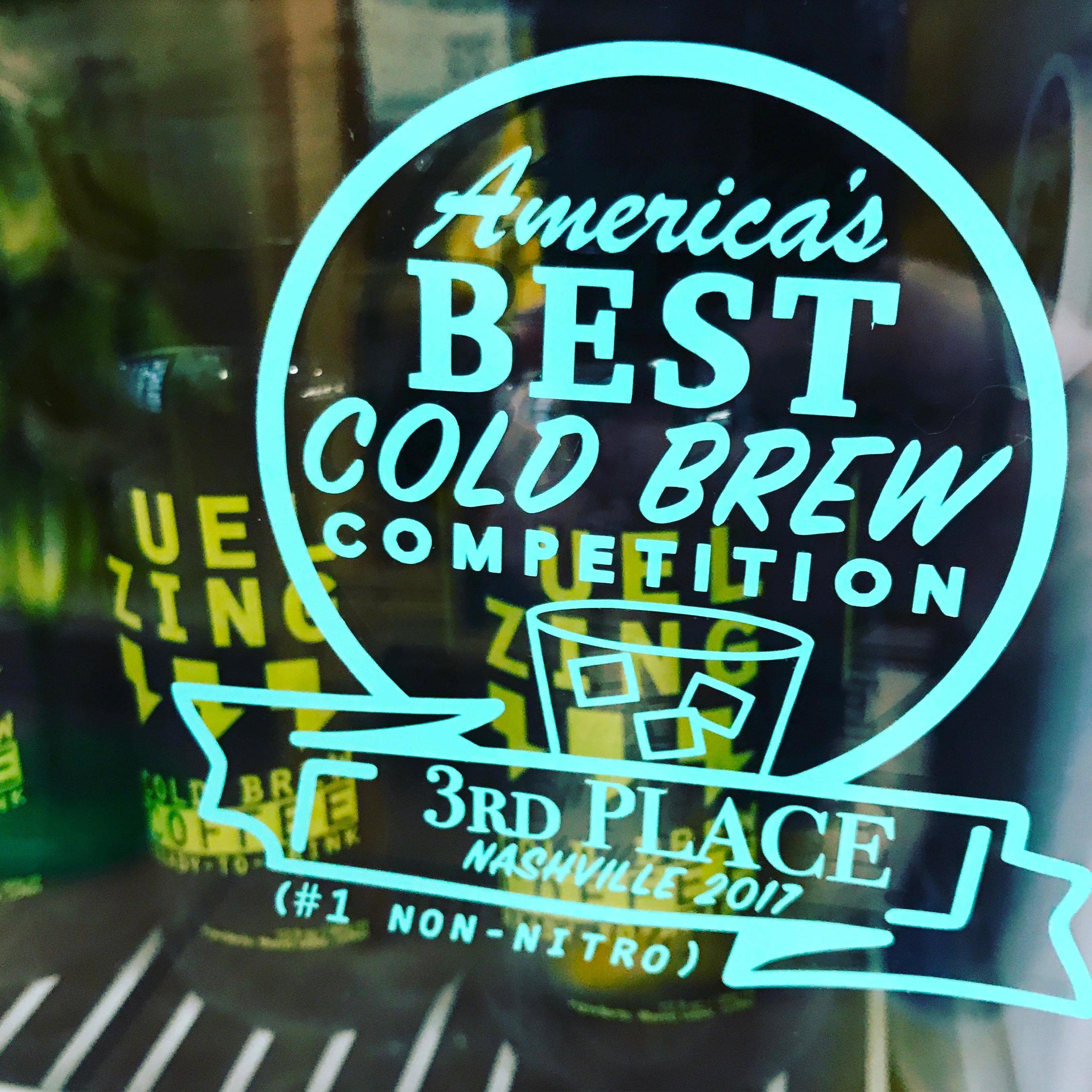 #1 non-nitro - We won 3rd overall best cold brew at a National Coffee Fest this year.