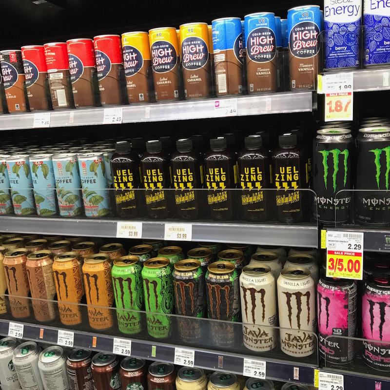 Uel Zing Coffee Kroger Energy Shelf.JPG