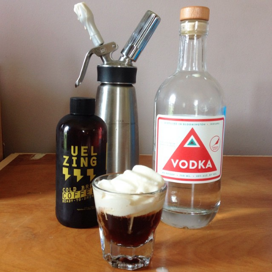 Really Tie the Room Together - some CONKsome Cardinal Spirits Vodkasome cream, preferably whipped