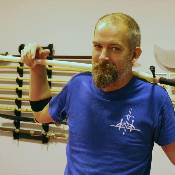 Keith Hamm  Longsword & Rapier Drill leader  Studied rapier ( Ridolfo Capoferro  as his main source) for over sixteen years and HEMA since 2014.