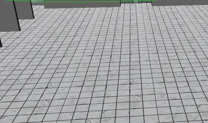 Tile floor for showers