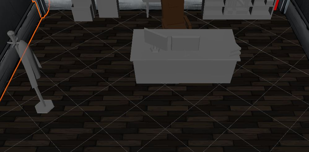 Wood floor for offices