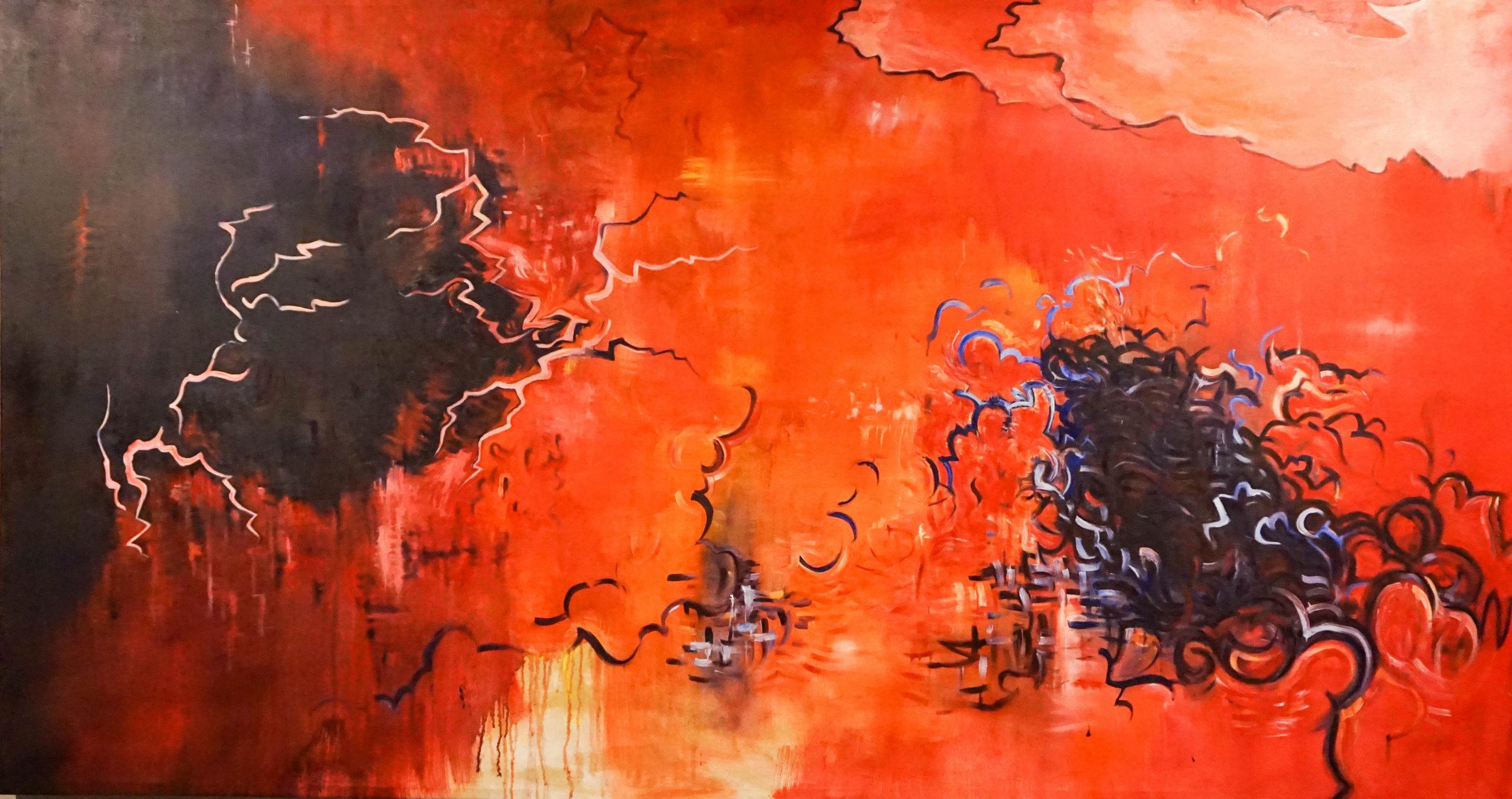 Red Dusk by Phuc Luu
