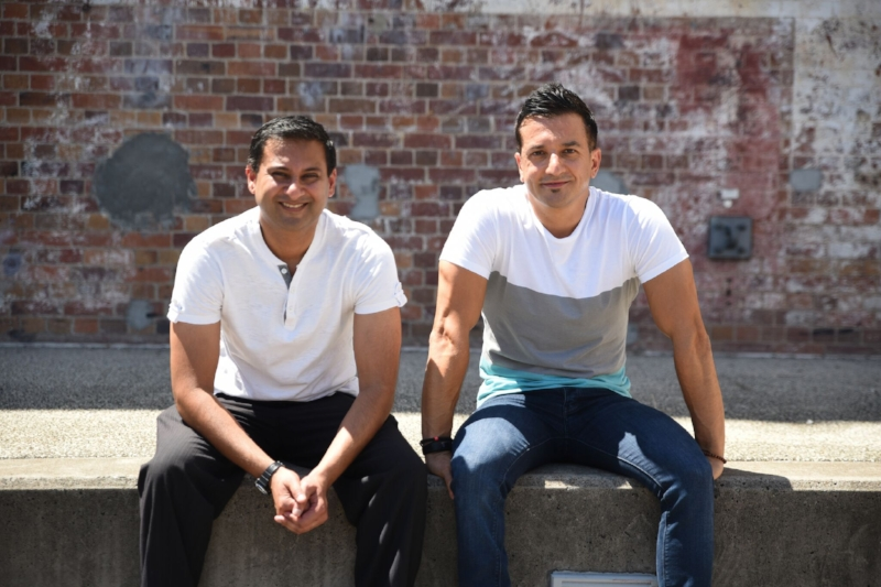 Our guest Paul Pitsaras (right), and Mitesh Raniga (left):cofounders of The Open Mind Institute