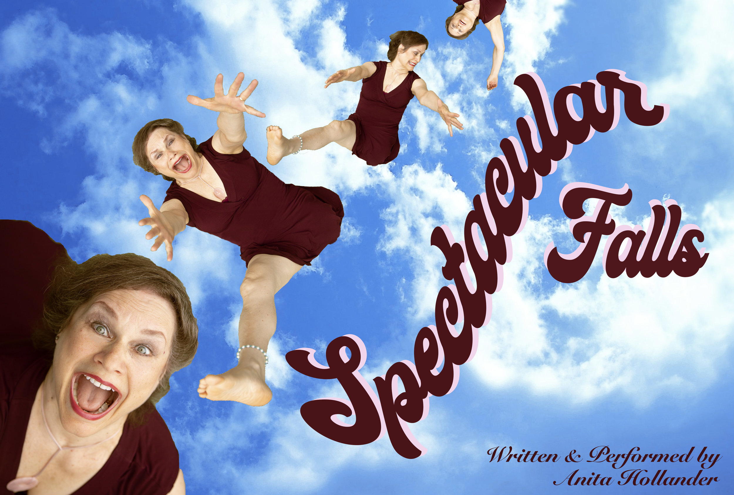 Click here for more information and tickets to Anita's show Spectacular Falls, coming to the 2019 United Solo Festival on September 23rd, 2019!