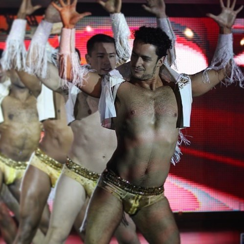 Strutting down the runway into #BroadwayBares season!  Solid gold tips make me shimmy in my g-string.  Donation link in bio. Make it rain! #bcefa #broadwaybares2019