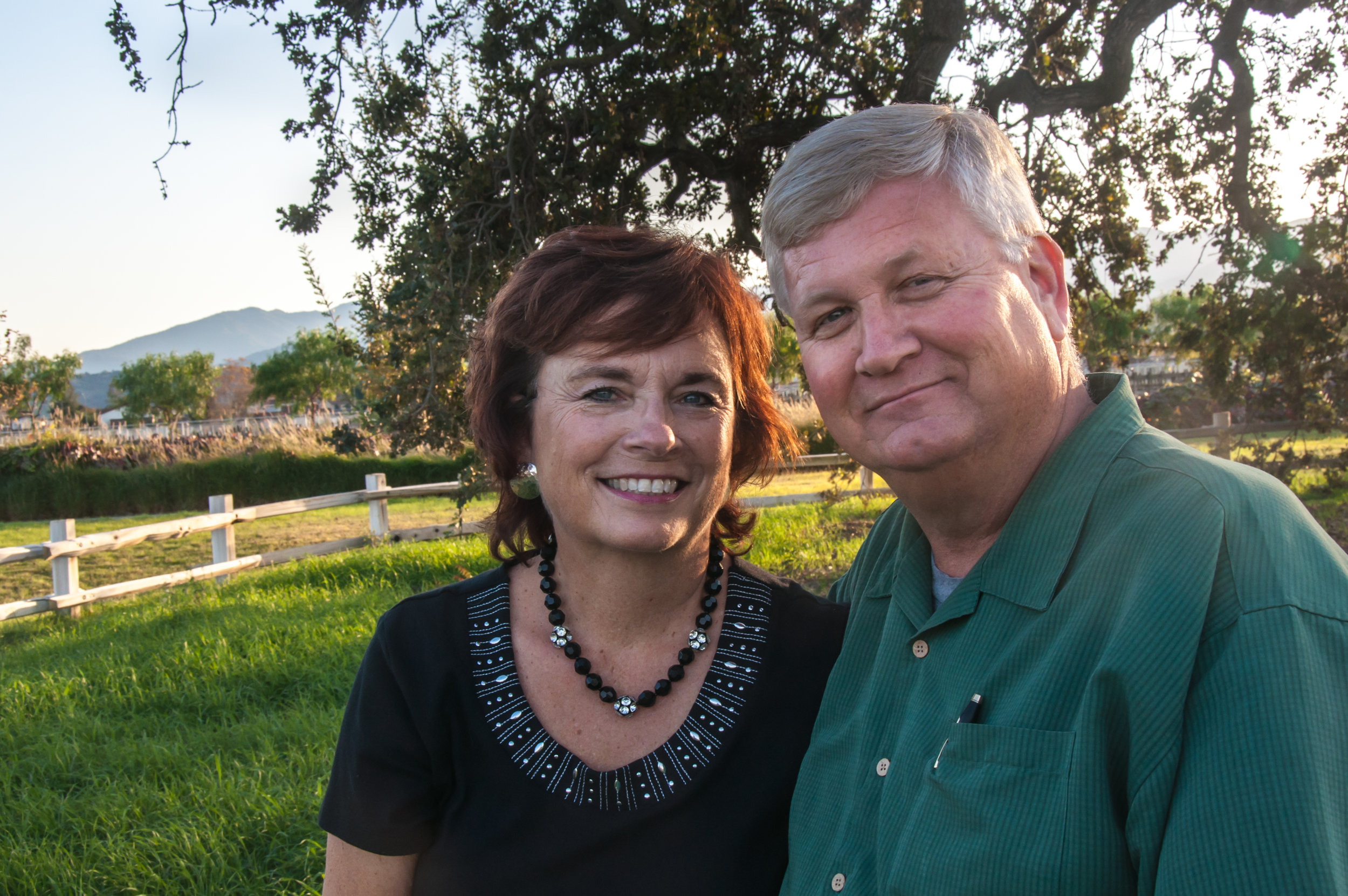Kevin and Luann