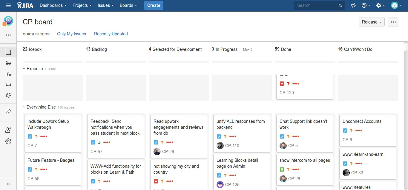 Managed the development team in an Agile development paradigm using JIRA