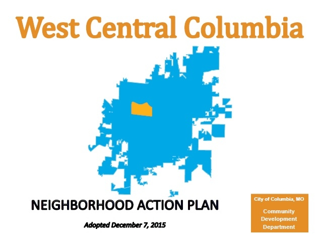 West Central Columbia Neighborhood Action Plan