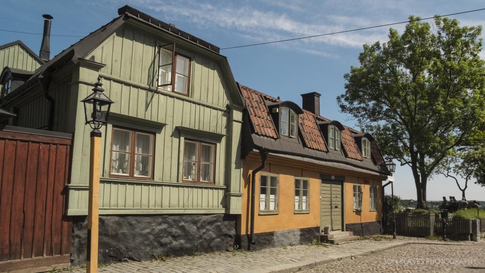 Historic houses near Cornelisparken.