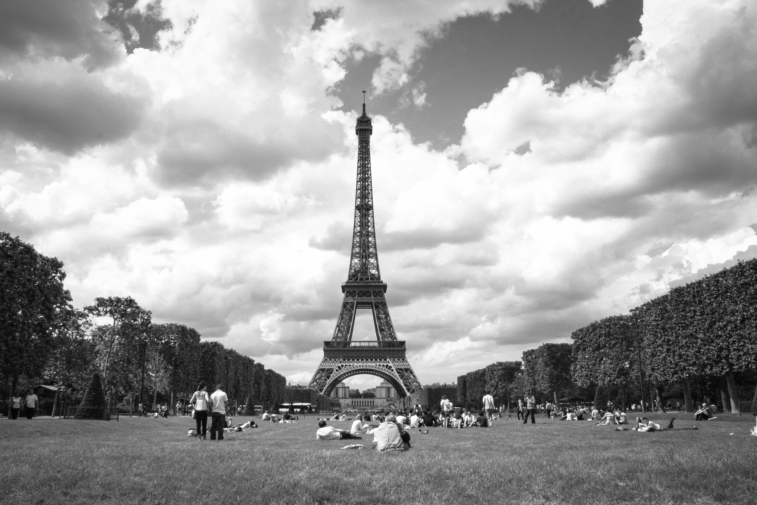 Eiffel Tower, Paris, 2008. I shot this with my very first DSLR during my college study abroad trip. I didn't have a complete understanding of exposure yet, but I was inspired by Paris and developed an eye for composition.