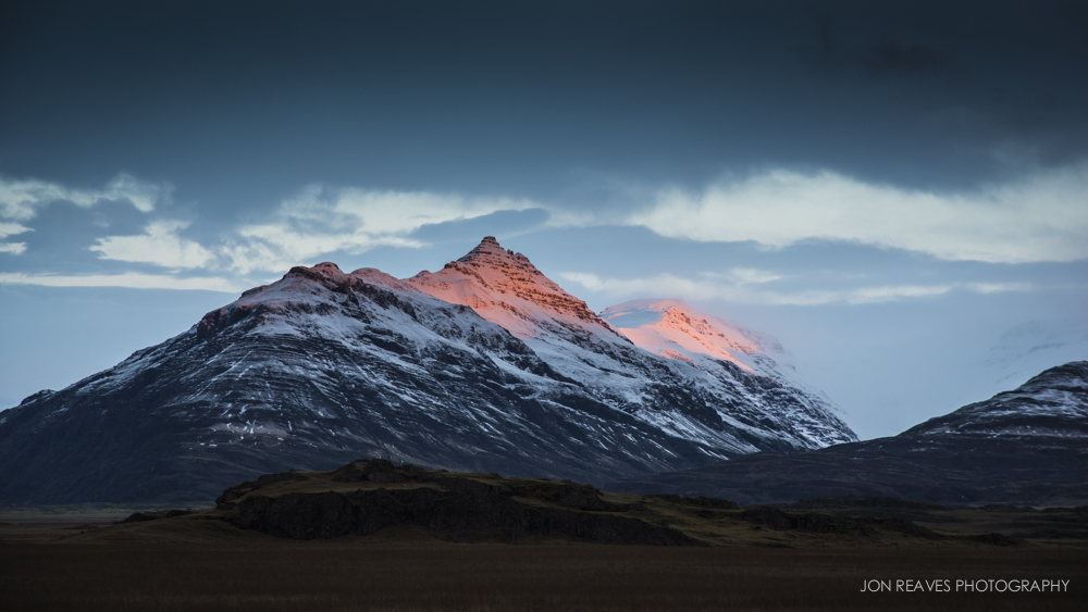Mountains in East Iceland