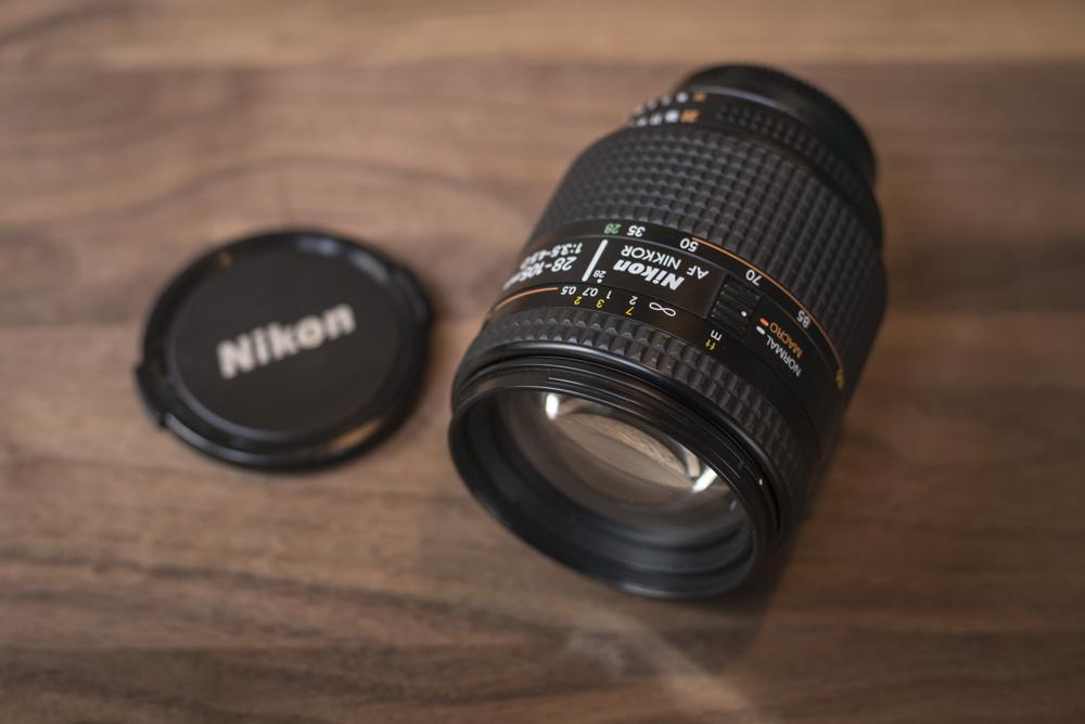 Nikon 28-105mm f3.5-4.5 AF-D Macro