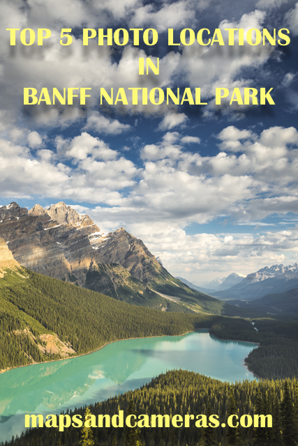 Top 5 Photography Locations in Banff National Park