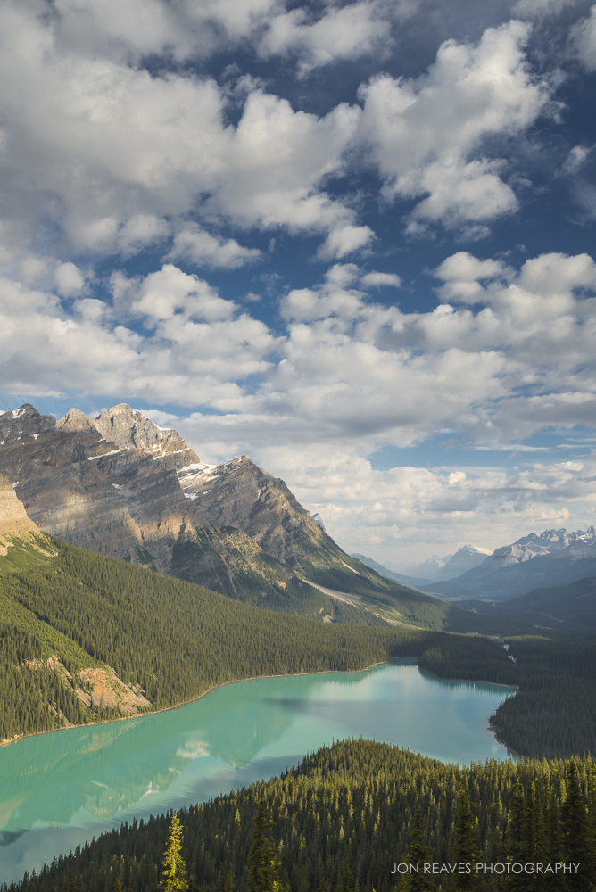 Peyto Lake in Summer, Banff National Park