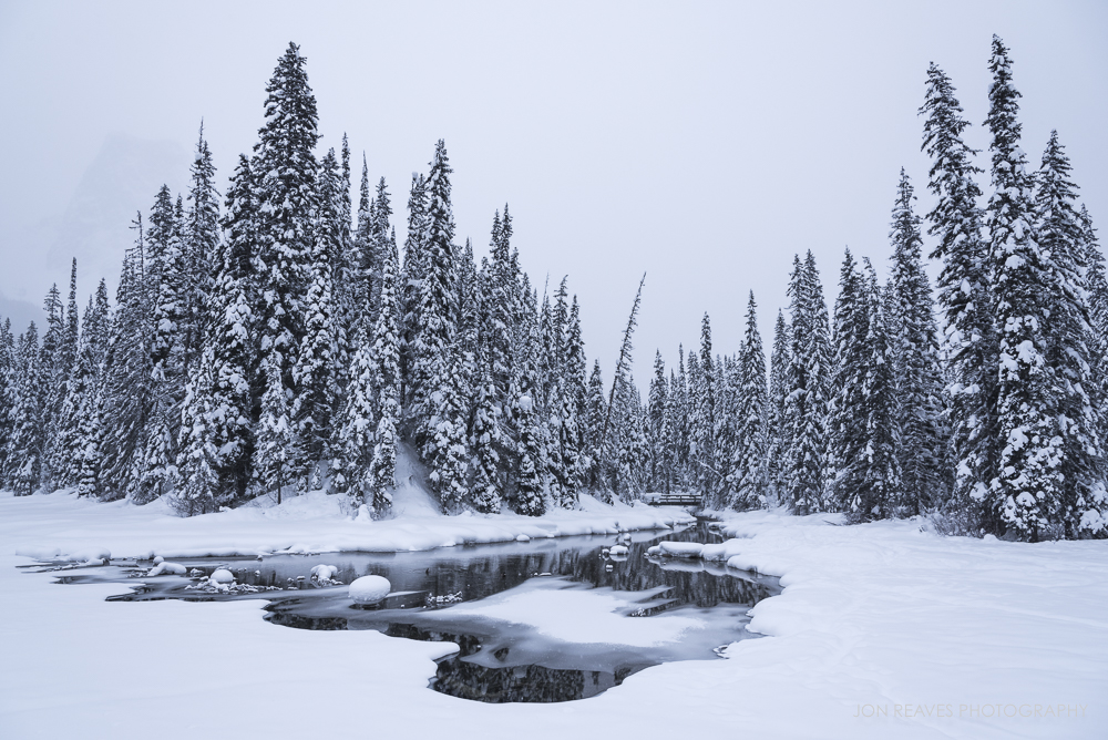 Emerald Lake Winter, Yoho National Park