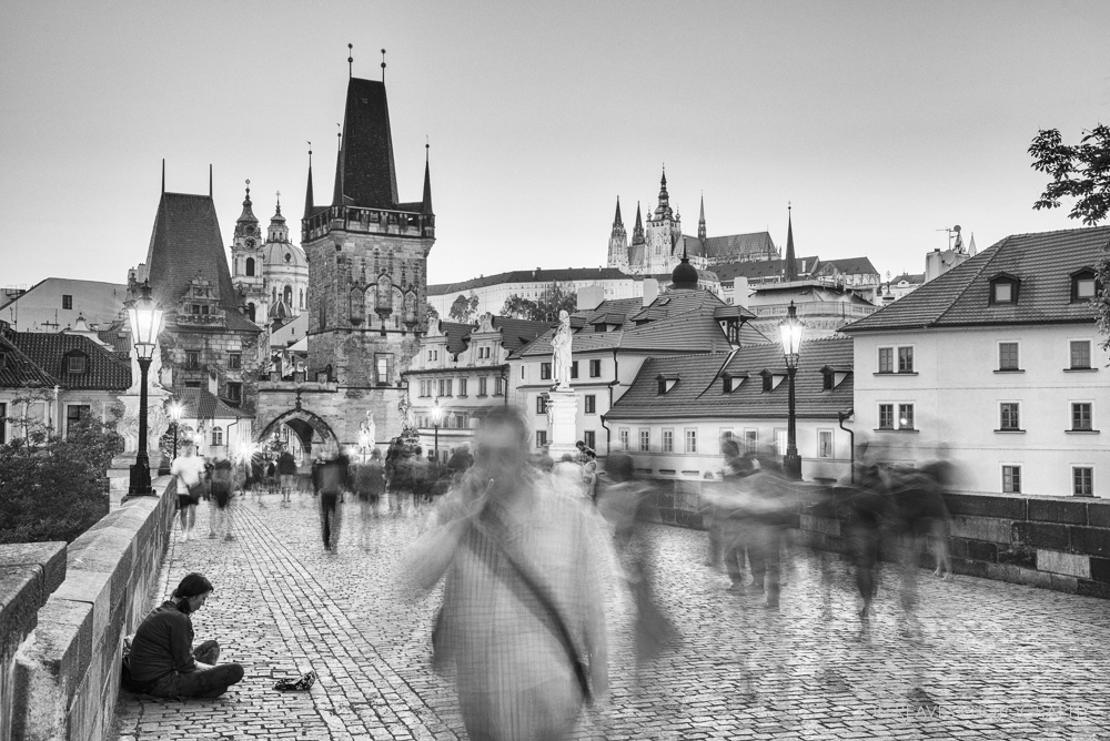Charles Bridge and Mala strana, Prague, Czech Republic