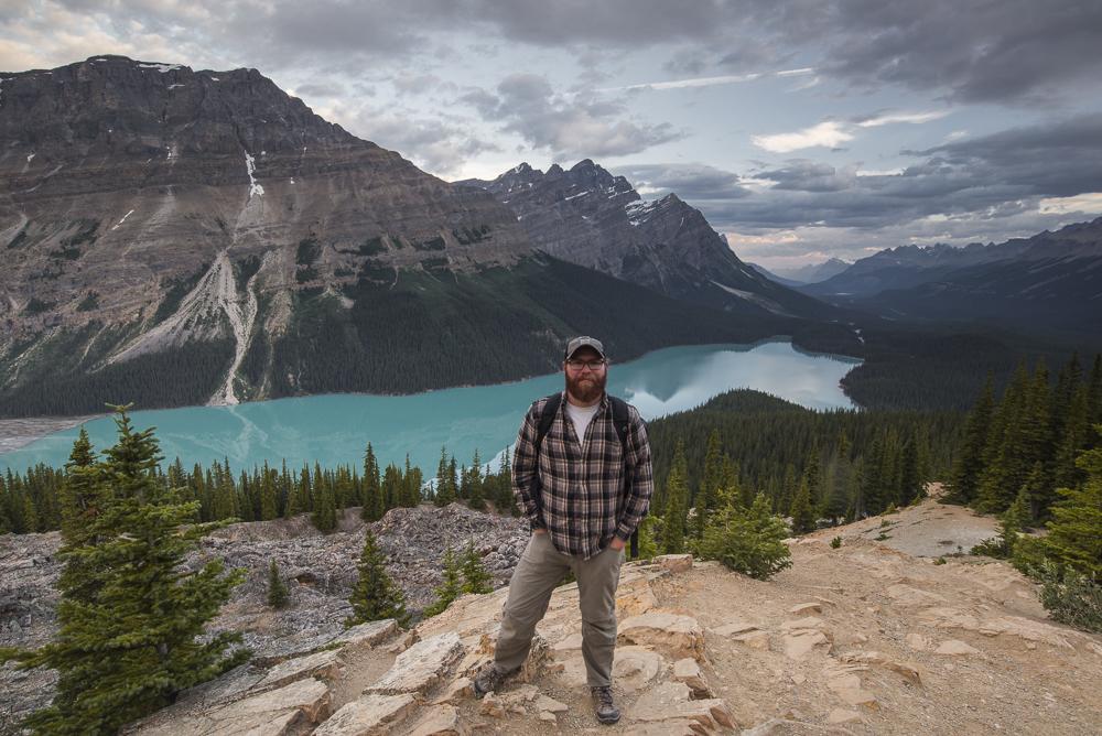 My first visit to Peyto Lake and Banff National Park, Alberta, July 2017