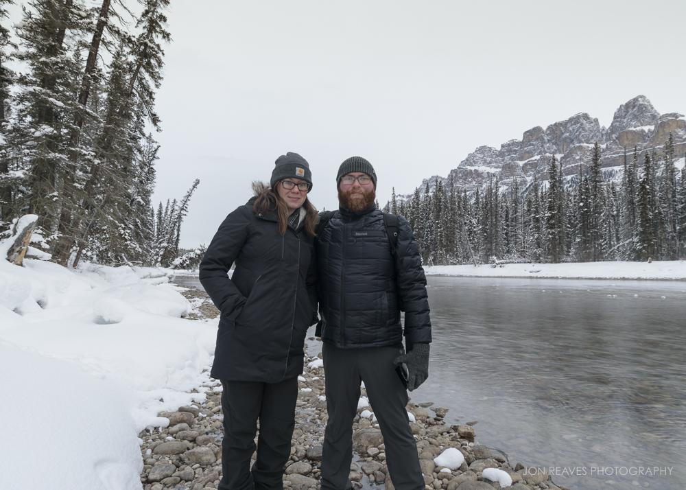 Bow River, Banff, Alberta, January 2018