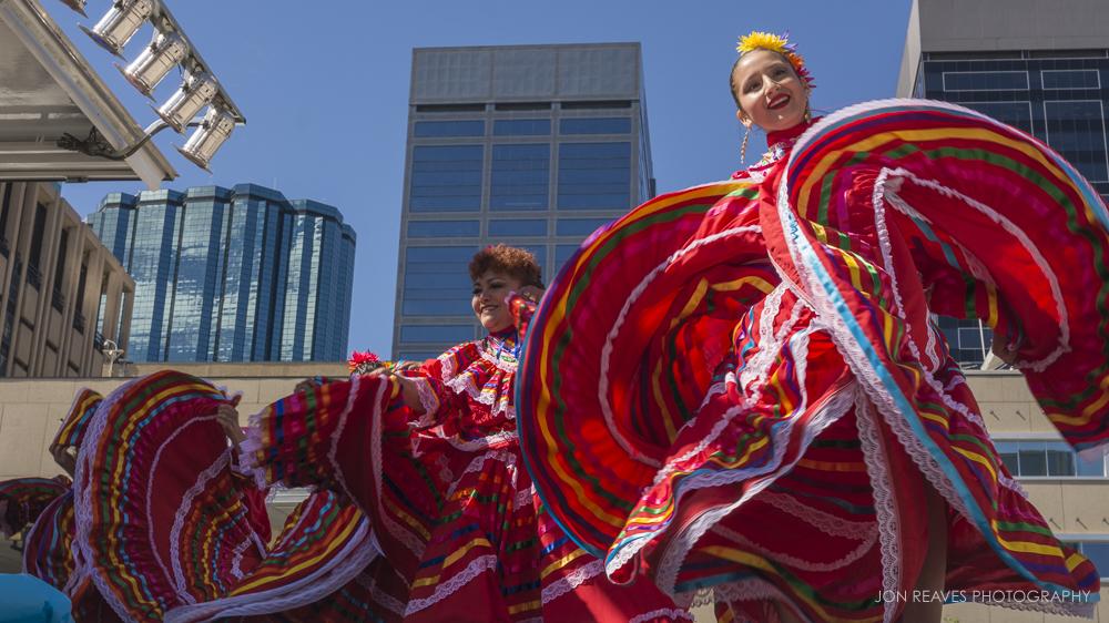 Latin Dancers, Edmonton, AB, 2017