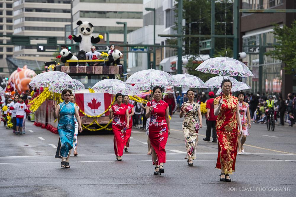 Chinese Community Float, K Days Parade, Edmonton, AB 2017