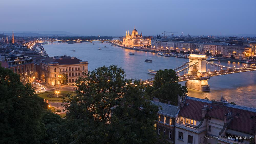 Danube River, Budapest, Hungary, Summer 2018