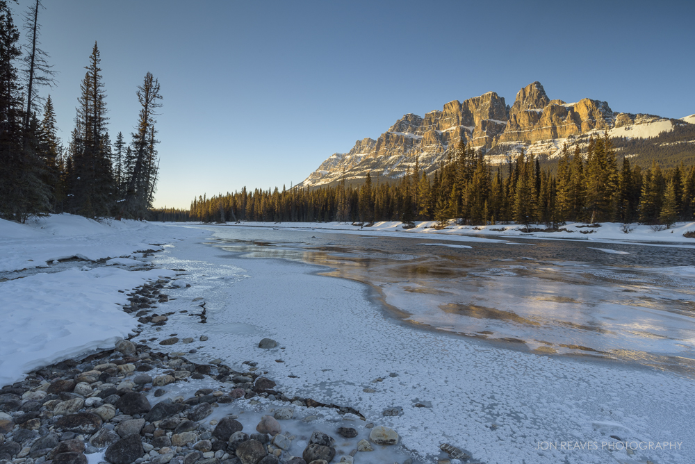 Castle Mountain Sunset, Banff, Alberta