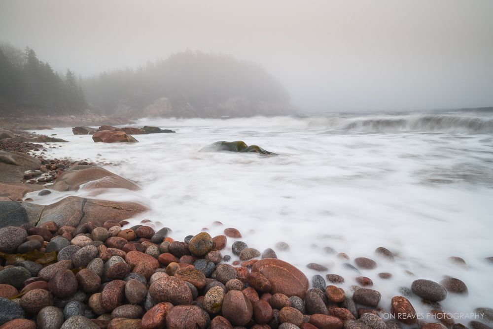 Somewhere on the Cape Breton Coast, Nova Scotia