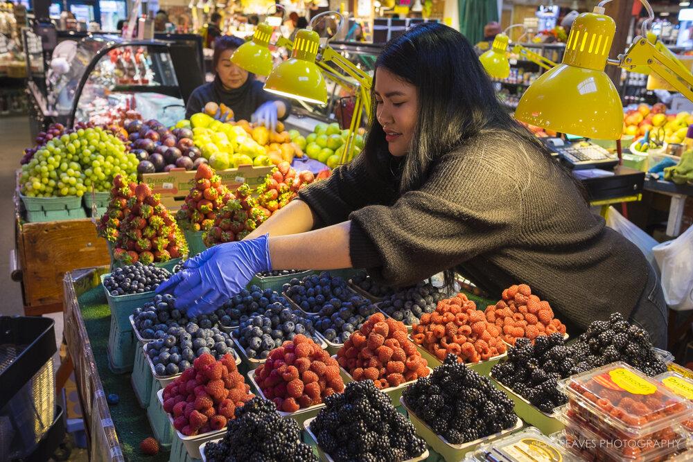 Granville Island Market, Vancouver, BC