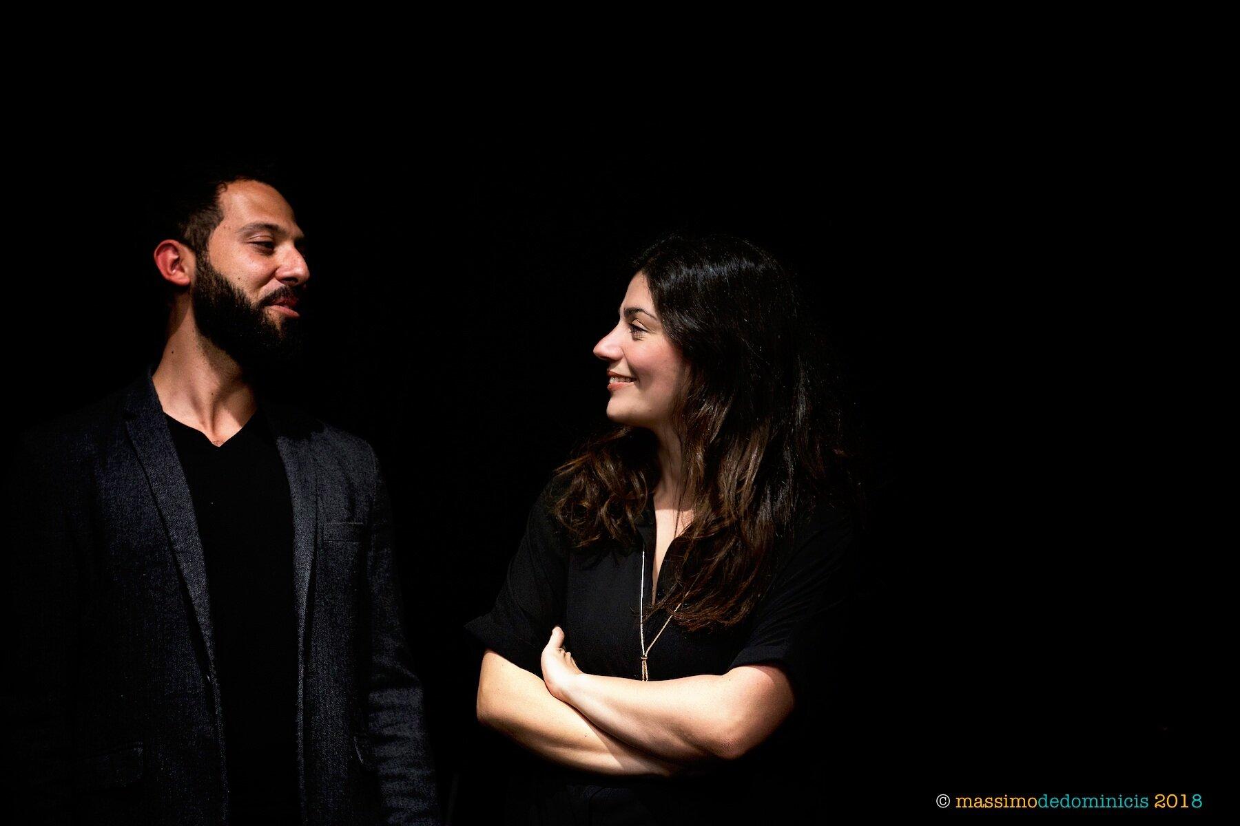 Ilaria Capalbo e Stefano Falcone - ph: Massimo De Dominicis