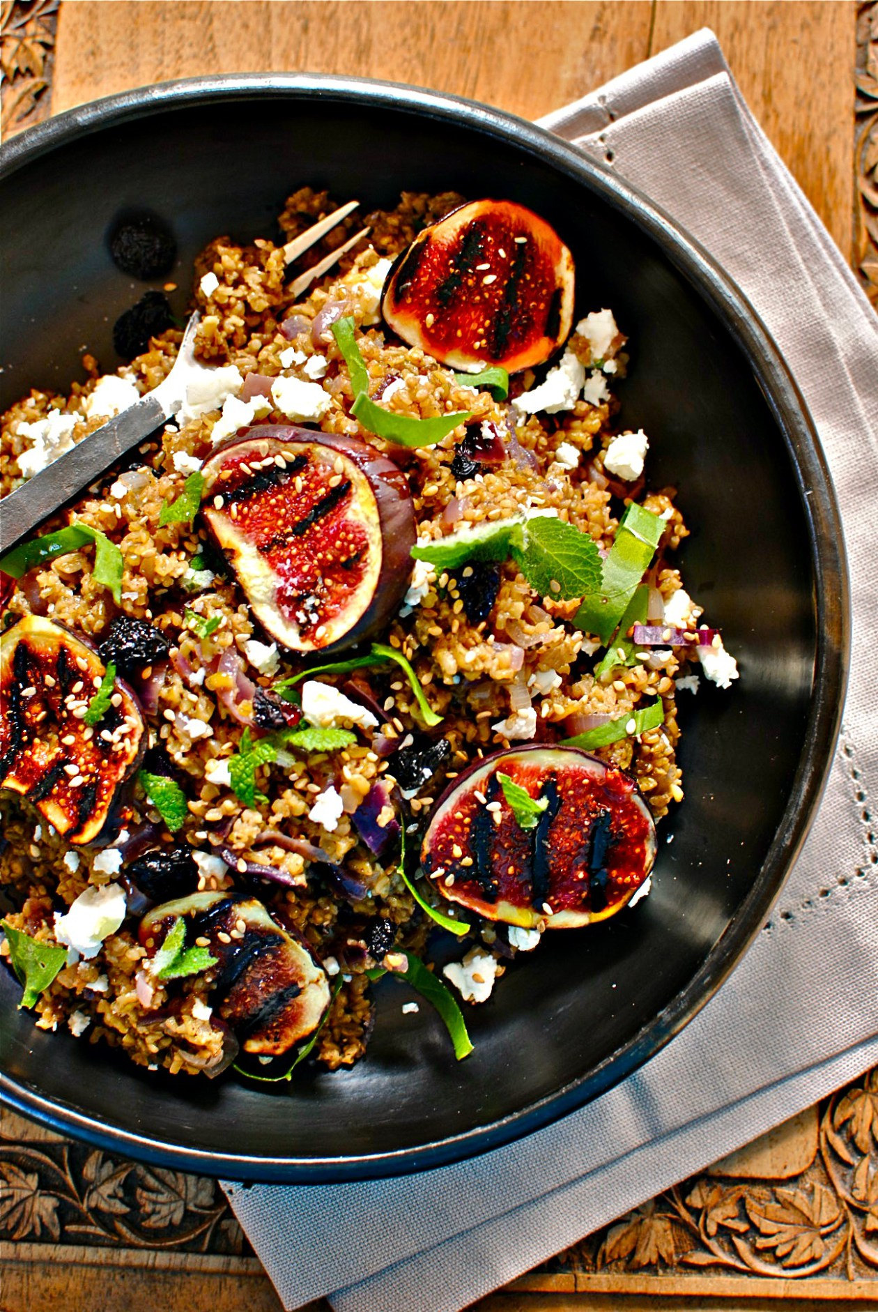 Lebanese Freekeh and Fig Salad.jpg